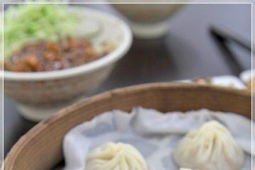 台南【上海好味道小籠湯包】。真的是好味道啊!