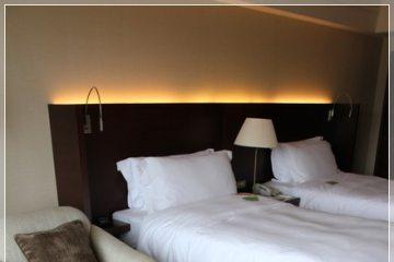 台北【晶華酒店】。精緻客房小巧舒適