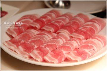 台北【市民大道涮涮鍋】。讓人難忘的牛肉片