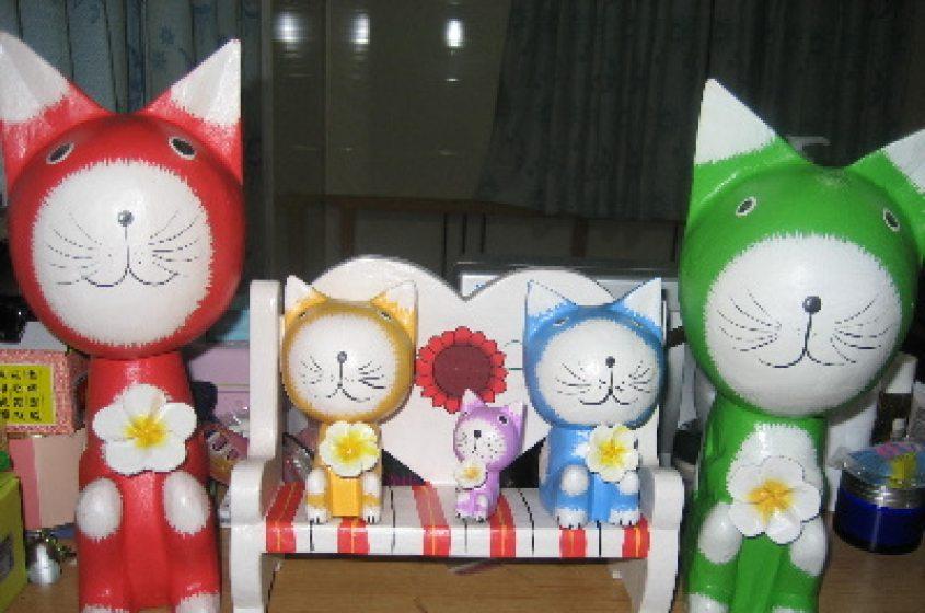 峇里島的貓們
