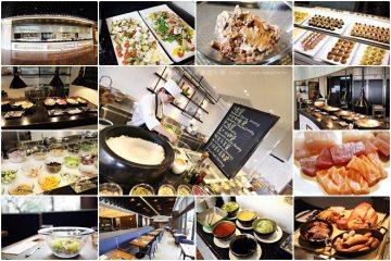高雄【Market Cafe】。味‧集廚房自助餐,特別的大碗公沙拉和炒冰!@國賓飯店