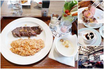 台南【三胡町】。老屋風格餐酒館,商業午餐平價豐盛,小團體聚餐的好去處