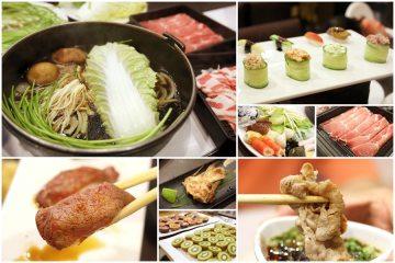 台南【秋澄壽喜燒】。一次就上二十盤肉也太豪邁了!還有各式握壽司吃到飽(健康店)