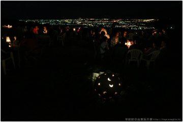 台東卑南【星星部落】。看星星堆滿天際線,台東市區夜景盡收眼底