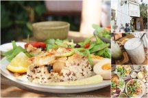 台南【小北家灶咖】。叢林系老宅早午餐,餐點精緻平價,超高人氣一位難求!