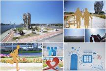 台南安平【戀愛廣場】。小而巧的遊憩景點,來安平漁港尋找愛情故事