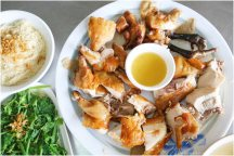 嘉義番路【伯恭甕缸雞】。香噴噴甕缸雞好美味!小孩也超捧場,點一隻不夠吃啦!