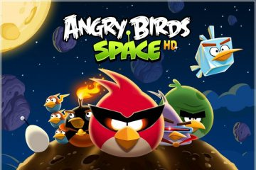 【Angry Birds Space】憤怒鳥太空版!快上太空殺豬去!地心引力抓不住鳥?